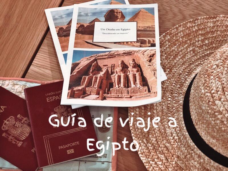 Guía de viaje a Egipto
